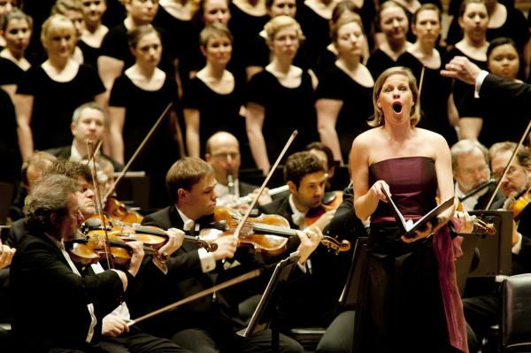 "Soprano soloist Camilla Tilling sings Hugo Wolf's ""Elfenlied."""
