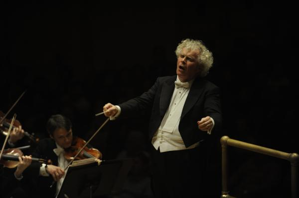 "Simon Rattle has said that it was a performance of Mahler's ""Resurrection"" Symphony he heard live at age 12 that made him want to become a conductor."