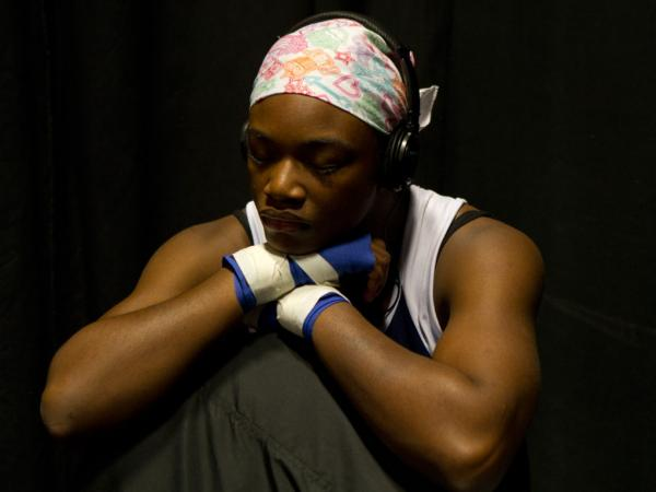 """Before boxing, I wanted to have 10 kids by the time I was 25. Now, my goal is to get this gold medal, go pro and be a world champion,"" says aspiring Olympic boxer Claressa Shields, 16."
