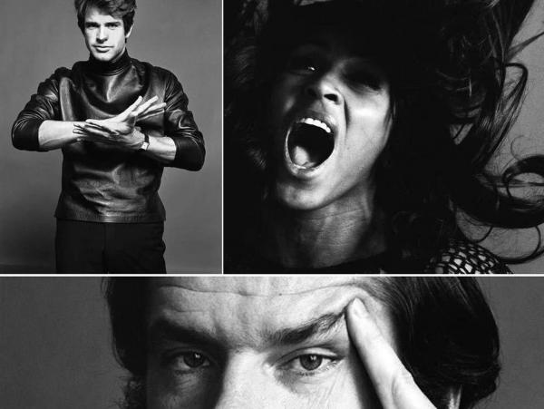 The found photographs of Jack Robinson include Warren Beatty, Tina Turner and Jack Nicholson