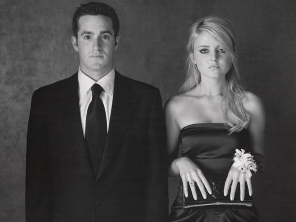David Alagem and Lorraine Nicholson, Los Angeles, 2008