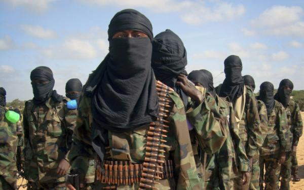 Thousands of Somalis gathered at a militant-organized demonstration on the outskirts of Mogadishu, Somalia, in support of the merger of the Somali militant group al-Shabab with al-Qaida, which was announced in February by al-Qaida leader Ayman al-Zawahiri.