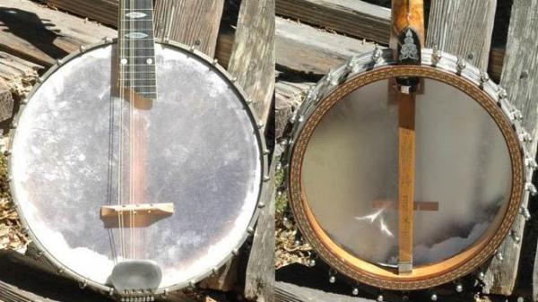 Mandolin banjo.