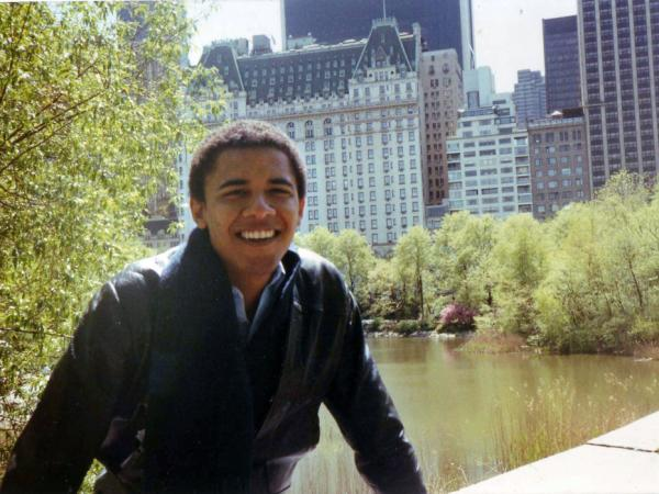 A new biography of President Obama provides a rare glimpse of him as a young adult.