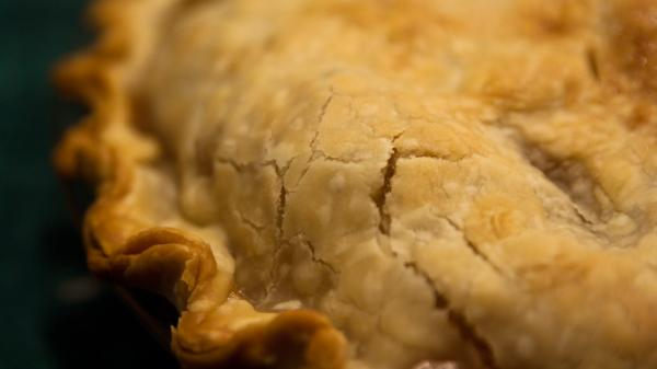 Could you taste the lard in a freshly-baked crust?