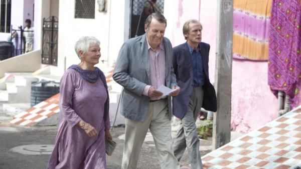 <strong></strong>Judi Dench, Tom Wilkinson and Bill Nighy play British retirees in residence at the Best Exotic Marigold Hotel. While advertisements promised a life of leisure in a newly refurbished facility, the Brits arrive to find the palace a shell of its former self.