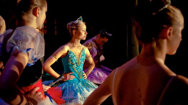 <em>First Position </em>profiles dancers at the Youth America Grand Prix, a prestigious ballet contest. Rebecca Houseknecht, 17, is a dancer with a lot of talent — and a painful awareness that her chances of signing with a top company are growing slim.