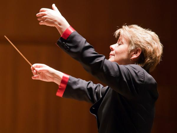 Marin Alsop will conduct the Baltimore Symphony in Edward Elgar's Symphony No. 1 May 10-13.