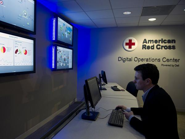 The American Red Cross recently unveiled a Digital Operations Center in Washington, D.C., which is devoted to disaster relief and uses social media to help empower stricken communities.