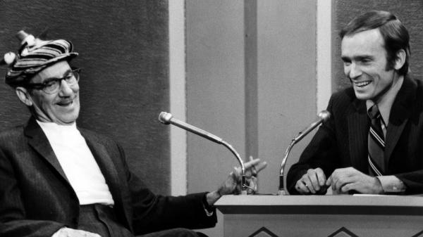 In 1970, Groucho Marx appeared on the Dick Cavett Show. Two years later, Cavett introduced Groucho in Carnegie Hall.