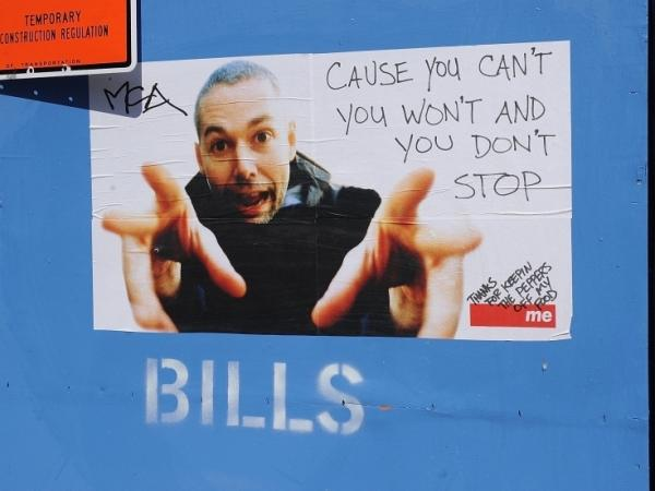 A poster paying tribute to Adam Yauch is seen at 511 Canal Street which houses Adam Yauch's production company Oscilloscope Productions on May 6, 2012 in New York City. Adam Yauch died on May 4, 2012 after a three-year battle with cancer of the salivary gland.