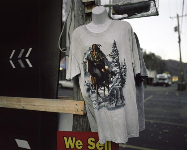 A T-shirt for sale in Cherokee, N.C.