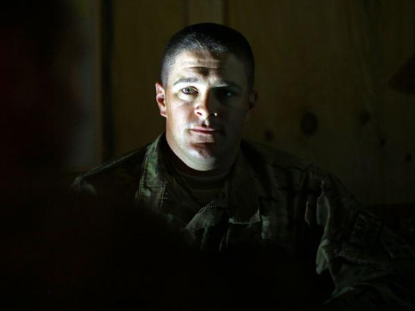 U.S. Army Lt. Adam Mancini is working with Afghan troops in the Panjwei District in southern Afghanistan. It's part of a program to wean Afghan troops off American assistance.