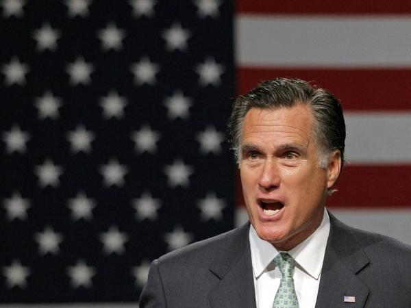 Republican presidential candidate, former Massachusetts Gov. Mitt Romney speaks during a campaign stop at Lansing Community College May 8, 2012 in Lansing, Michigan. Romney has said he opposes same-sex marriage.