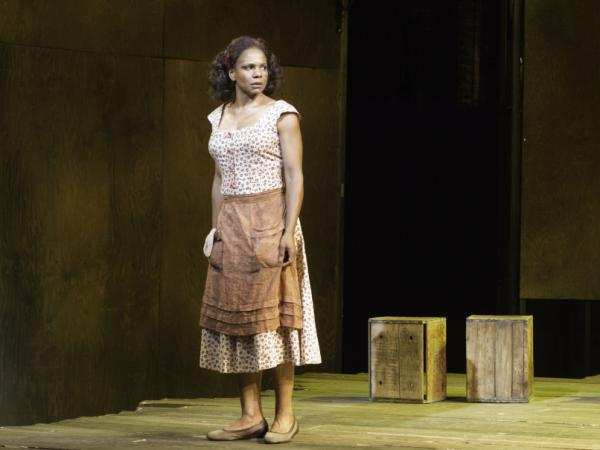 Audra McDonald plays Bess in the current Broadway production of <em>Porgy and Bess</em>.