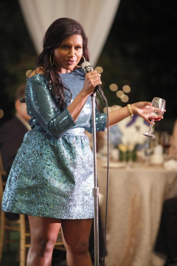 Mindy Kaling stars in the new Fox comedy <em>The Mindy Project</em>.