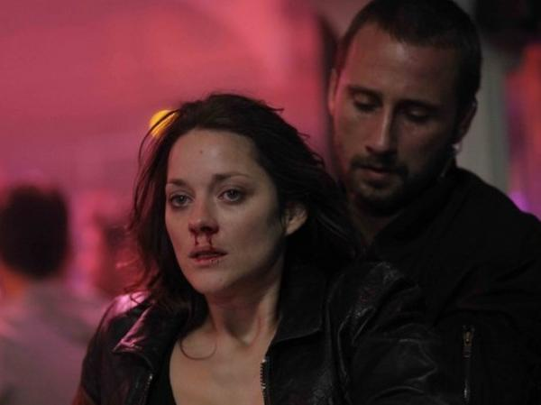 Marion Cotillard and Matthias Schoenaerts star in <em>Rust and Bone, </em>a subtle and surprising drama from director Jacques Audiard.