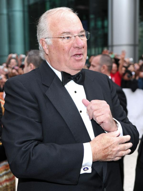 Joe Ricketts, whose American Film Company produced <em>The Conspirator</em>, arrives at the film's premiere during the Toronto International Film Festival in 2010.