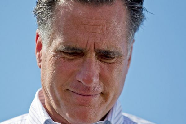 Mitt Romney speaks at a campaign stop in Kirkwood, Missouri. Romney lost primaries in both Mississppi and Alabama on Tuesday to Rick Santorum.