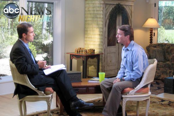 In an interview with Bob Woodruff on Aug. 8, 2008, former Sen. John Edwards admits he lied about an affair with Rielle Hunter.