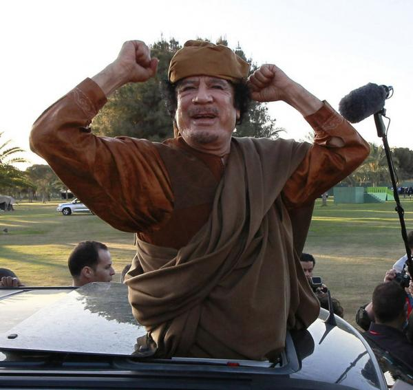 Libyan leader Moammar Gadhafi is the latest in a line of dictators who — facing the end of their days in power — must choose an exit strategy.