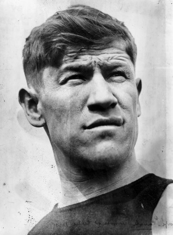 In 1950, Jim Thorpe was named the greatest male athlete of the half-century by the Associated Press, beating out baseball legend Babe Ruth for the top spot. A year later, his life story was put on the silver screen in the Burt Lancaster film <i>Jim Thorpe: All-American.</i>