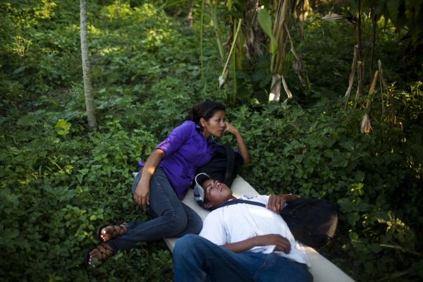 The trip for these migrants has become increasingly dangerous over the past several years as Mexico's drug war has raged, and kidnappings and killings of migrants have increased. Ana Ruiz, a mother of three from El Salvador, says she's making the journey to try to improve the lives of her children.