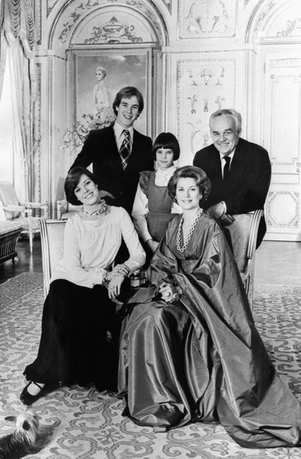 The fairy-tale marriage of Albert's parents captured the world's attention. The famous couple posed for a family portrait with their children, (from left) Caroline, Albert and Stephanie, in Monte Carlo in 1976.