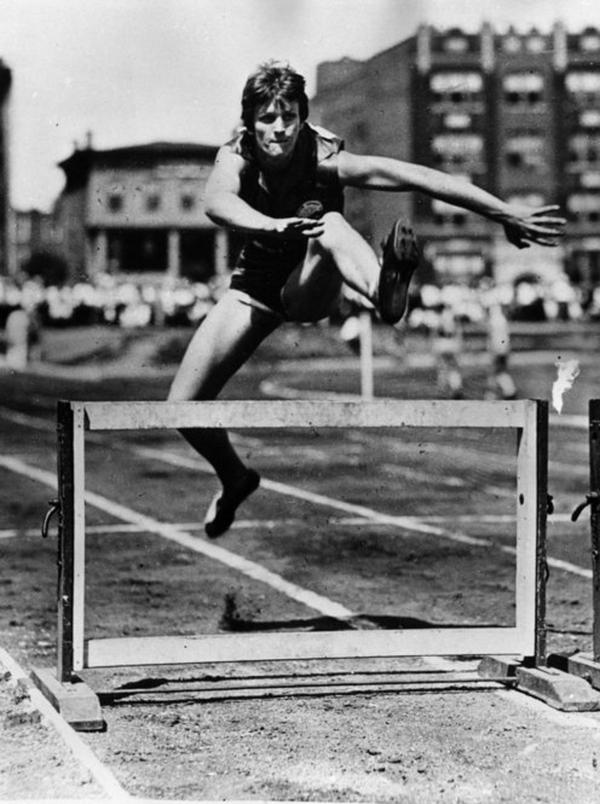 Didrikson set an Olympic and world record in 1932 with her 11.7-second time in the 80-meter hurdles. Her national record in the same event, set in 1931, stood for 18 years.