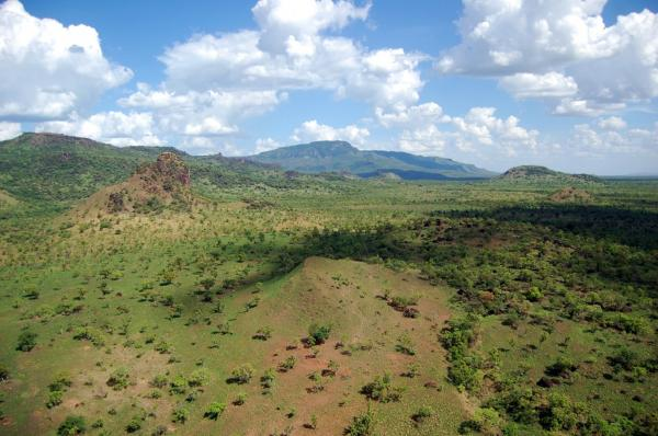 South Sudan's Boma National Park covers more than 10,000 square miles but has only 150 park rangers. Most people think of Sudan as desert, but parts of the south are quite lush, especially in the rainy season.