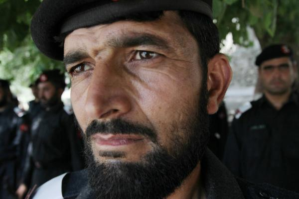 A security official says families in the area who have any men in the Frontier Constabulary may be better off if they also have relatives in the insurgency. Otherwise, militants might threaten or kill the family.
