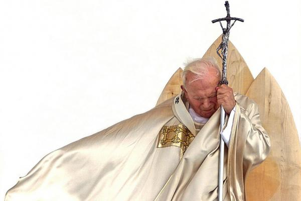 "Pope John Paul II (1920-2005): After the pope died in 2005, mourners who flocked to Rome shouted, ""Santo Subito!"" — ""Sainthood now!"" Usually, the process to become a saint doesn't even begin until five years after death. That requirement was waived for John Paul, shown here celebrating a beatification Mass in Maribor, Slovenia, in 1999."