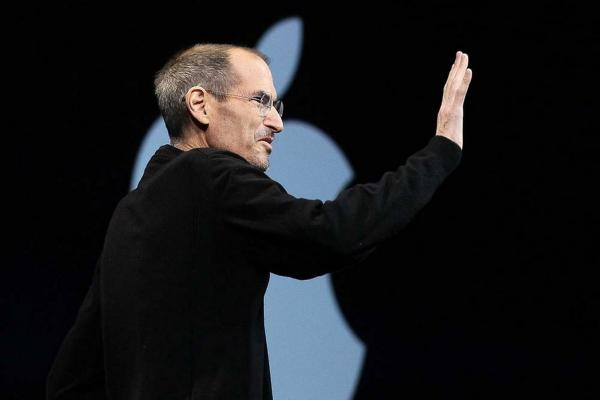 In his last public appearance after stepping down as Apple CEO, Steve Jobs introduces Apple's iCloud storage system in San Francisco, June 2011.