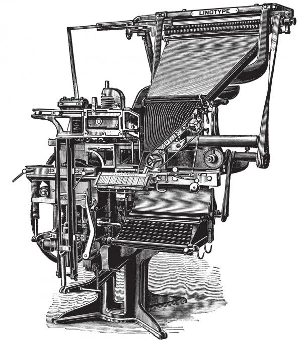 "Thomas Edison called the linotype the ""eighth wonder of the world."""