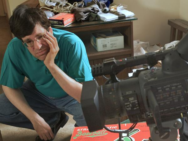 Clayman on the set as subject and co-director of <em>OC87.</em>