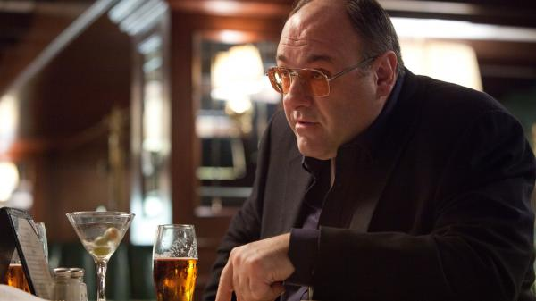 "James Gandolfini is a hard-partying hit man in <em>Killing Them Softly,</em> which critic Raj Ranade says is ""a tight, melancholy mob thriller."""
