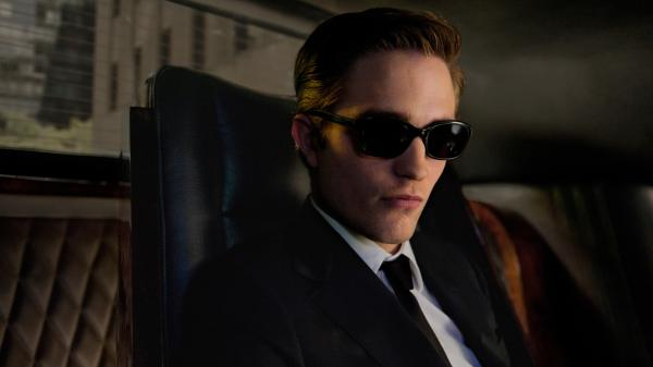 Robert Pattinson as Eric Packer in <em>Cosmopolis</em>.