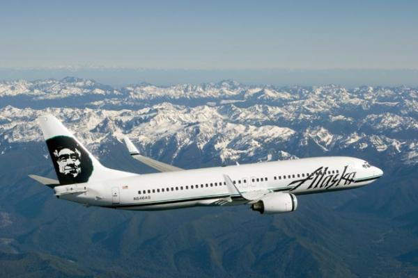 Alaska Airlines will try out a new do-it-yourself luggage tagging system at SeaTac. Photo courtesy Alaska Airlines