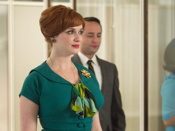 Joan (Christina Hendricks) had a tough week on <em>Mad Men</em>.