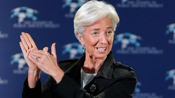 International Monetary Fund Managing Director Christine Lagarde.