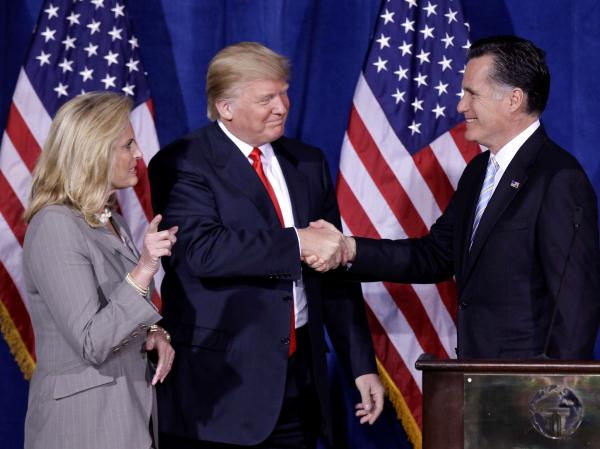 Mitt Romney keeps Donald Trump close at hand even though it's unclear from the outside what he hopes to gain.