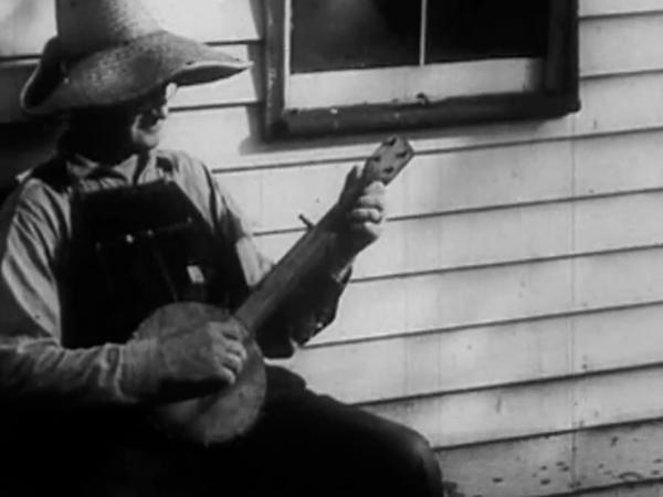 A still from Neil Young's film, <em>Americana</em>.