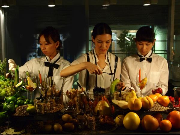 "At Taste Festival Berlin, Japanese culinary artist Ayako Suwa will feature ""food creation"" dinners, in which each dish is used to create a story and evoke an emotional response."