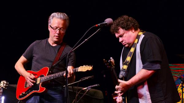 <p>Radney Foster (left) and Bill Lloyd perform together for the first time since 1991.</p>