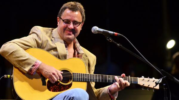 <p>Vince Gill performs on <em>Mountain Stage</em>.</p>