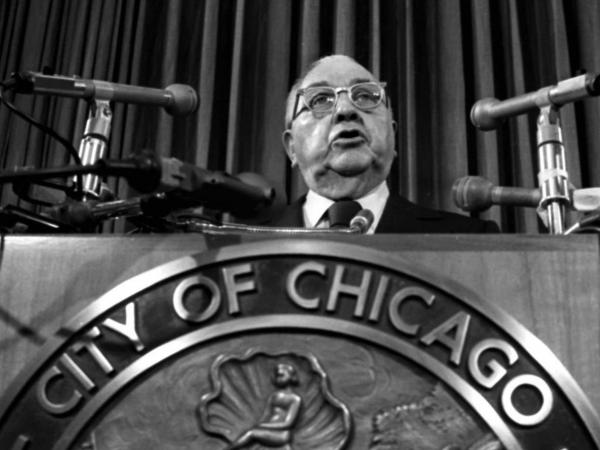 "Richard J. Daley served as the mayor and Democratic Party boss of Chicago for more than two decades, from 1955 to 1976. His son, Richard M. Daley, served as mayor from 1989 to 2011. <a href=""http://www.npr.org/2011/05/13/136240147/in-chicago-a-political-dynasty-nears-its-end"">Click here for more on the Daley dynasty.</a>"