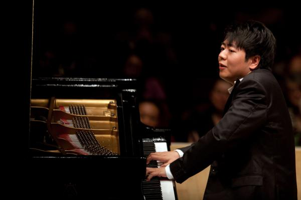 Lang Lang says that part of what has drawn him to the Schubert is the spaces between the notes.