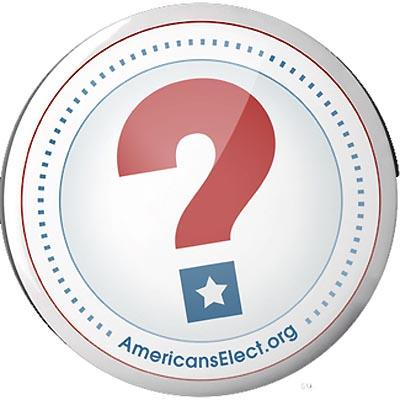 Oregon voters can select 'Americans Elect' as their political party, but the group will not field any candidates this fall.
