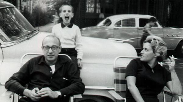 <em>All Songs Considered</em> host Bob Boilen, possibly singing with his parents, circa 1959.