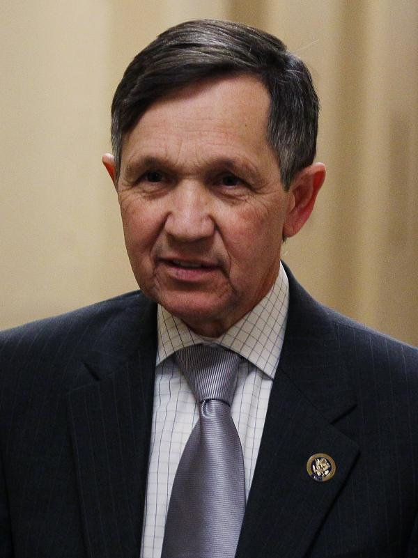 Rep. Dennis Kucinich's congressional career will end in January. That news sparked some snark on Twitter last month.